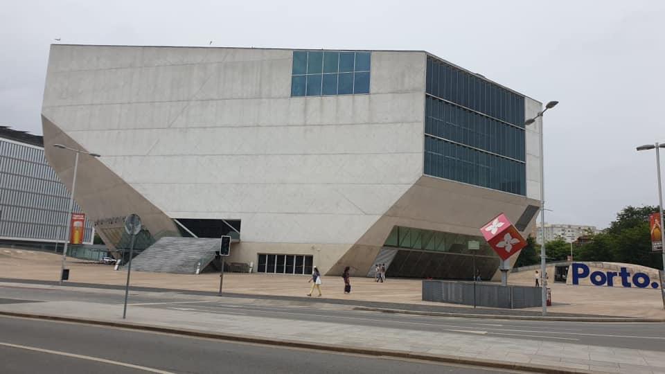 Concert hall of light: Casa da Música in Porto