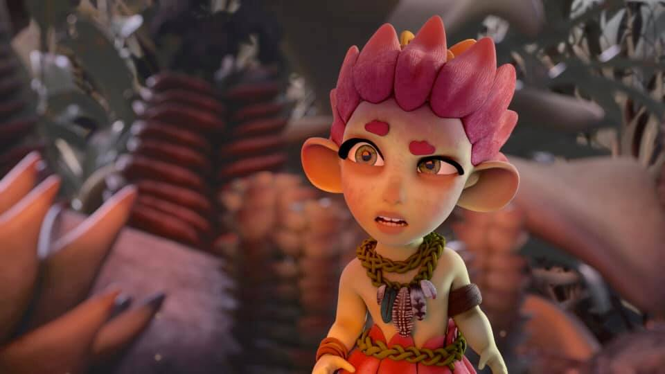 EMBER, an animated film by Caitlin Hoseck