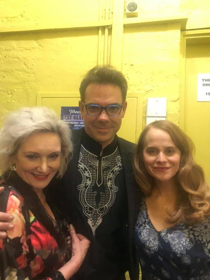 Fiona Ramsay, Marcel Meyer and Jenny Stead