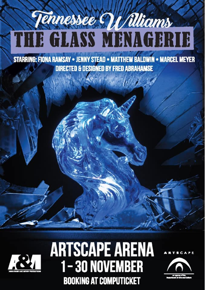 Tennessee Williams's The Glass Menagerie, presented by Abrahamse & Meyer Productions