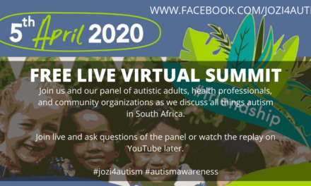 Jozi4Autism Free Live Virtual Summit