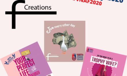vNAF tickets: F Creations at vFringe