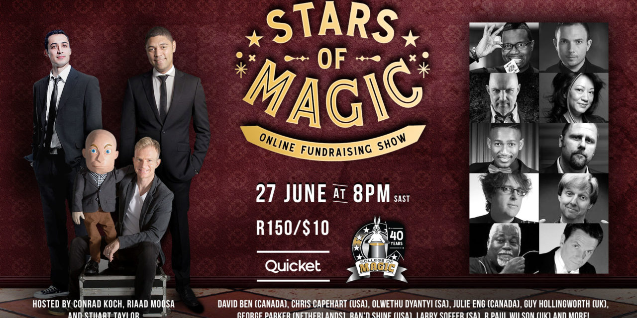 Live stream tickets: Stars of Magic 2020
