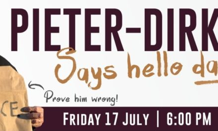 Showtime: Pieter-Dirk Uys says hello darling!