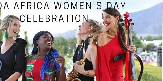 Live stream tickets: Women's Day 2020 with Coda Africa