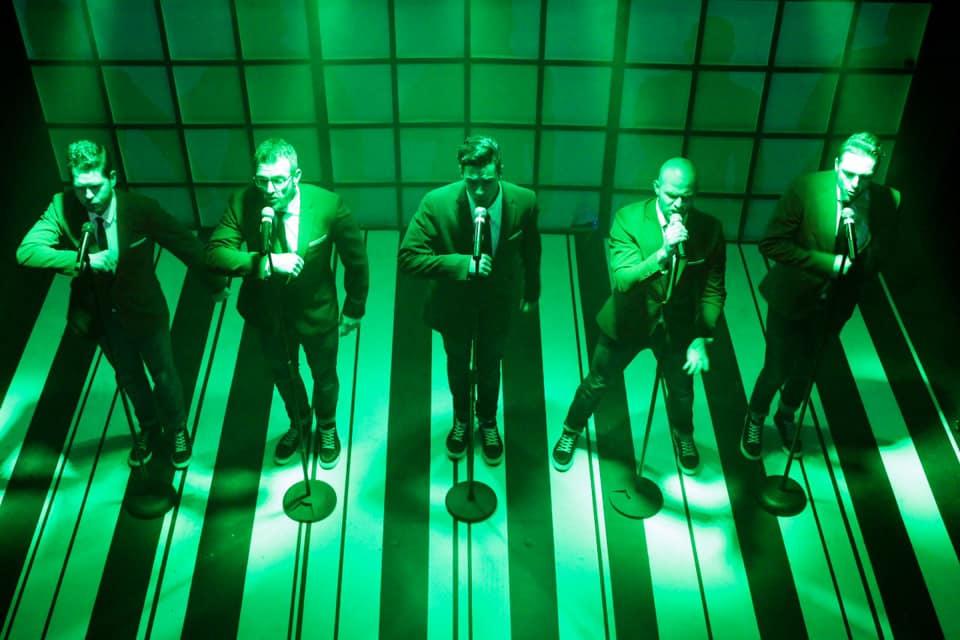 Review: Man Band at the vNAF