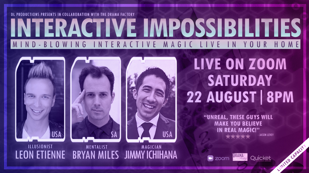 Interview:  Bryan Miles on Interactive Impossibilities