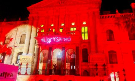 Activism: Light SA Red campaign, events industry