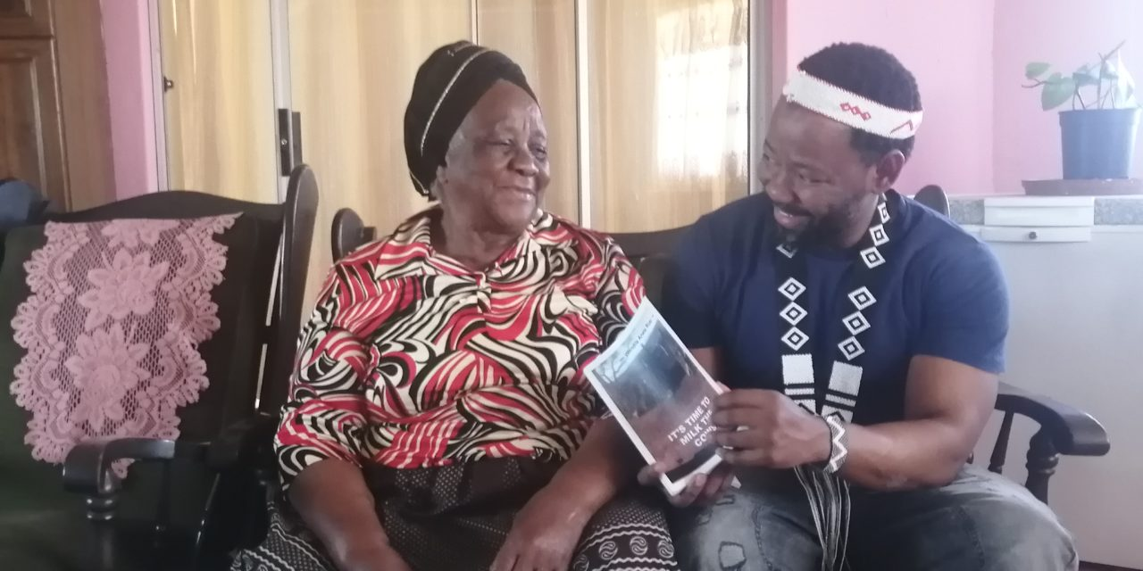 Books: It's time to milk the cows by Wandile Anele Rusi