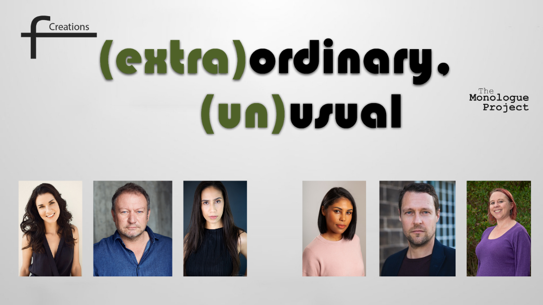 Preview: Hybrid theatre/film, (extra)ordinary, (un)usual