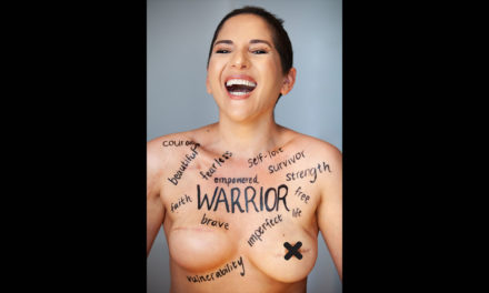 Good health: Hold on with warrior woman, Danielle Bitton