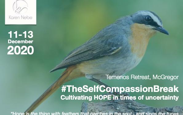 Wellness: Self compassion retreat at Temenos with Karen Nebe, Dec 2020