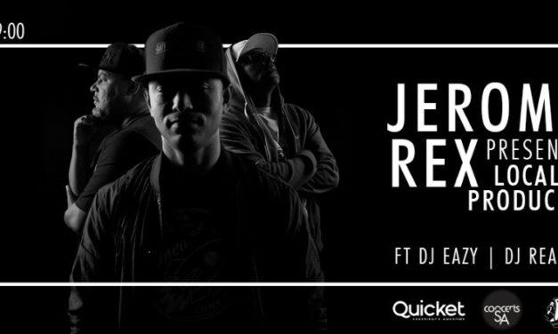 Concert preview: Jerome Rex online concert, Jan 2021