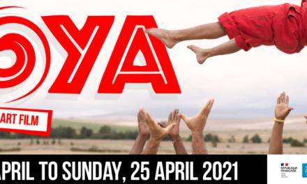 Film: Zip Zap Circus premiering acrobatic art film, MOYA, April 2021
