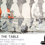 Art exhibition: The Printing Girls, At The Table, April-May 2021, Spin Street, Cape Town
