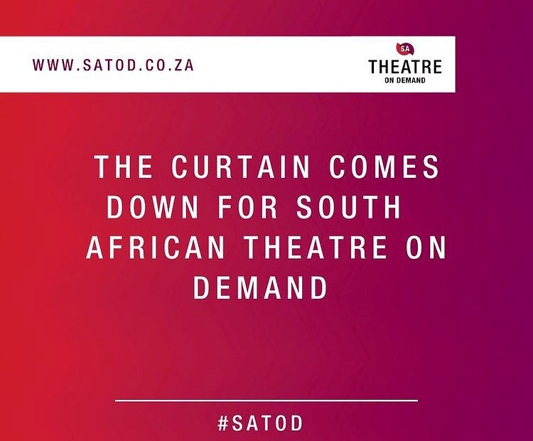 Digital stage: Suspension of South African Theatre on Demand, April 30, 2021