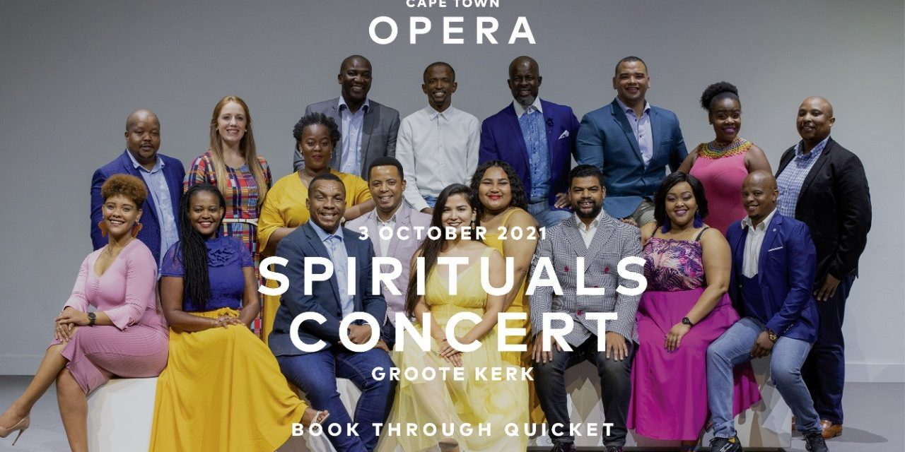 Opera: Uplifting Spirituals Concert with Cape Town Opera Chorus
