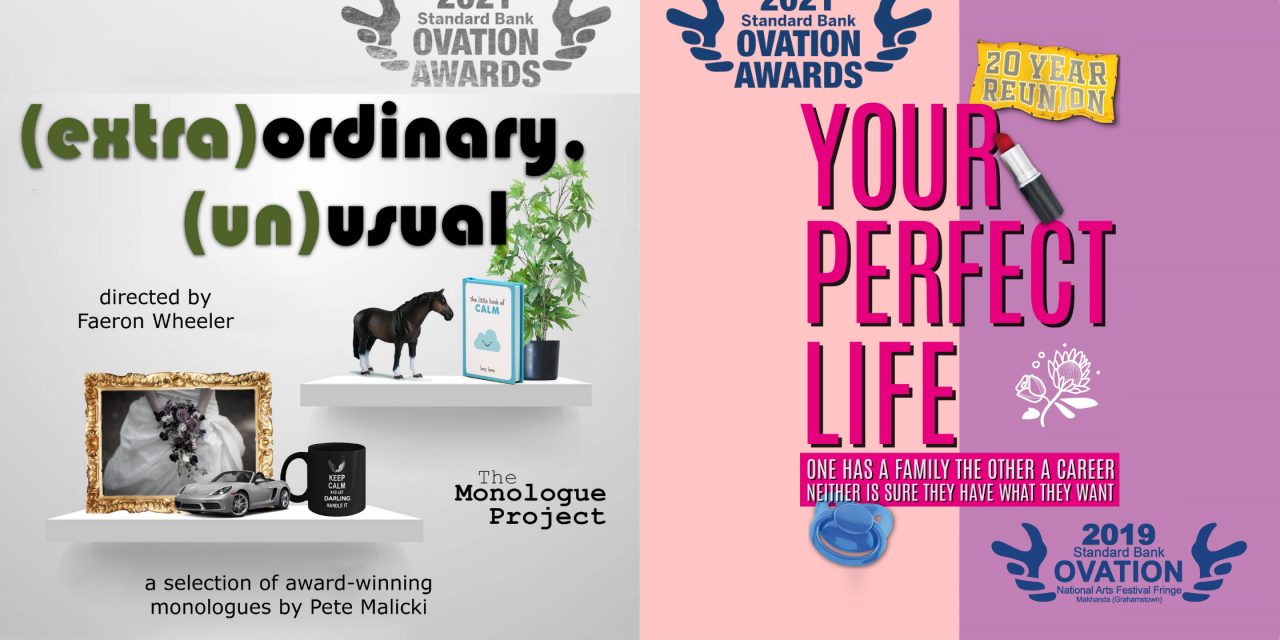 Edinburgh Fringe 2021: Two award winning shows from South Africa, streaming on-demand